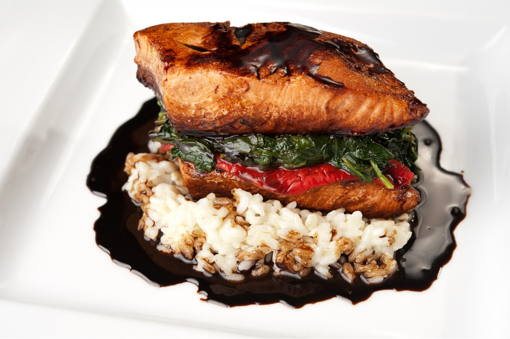 Salmon - Daniel's Bistro & Bistro By The Sea - Fine Dining Restaurant in Point Pleasant Beach & Avon-by-the-sea New Jersey